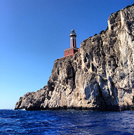 Lighthouse on Capri, Italy
